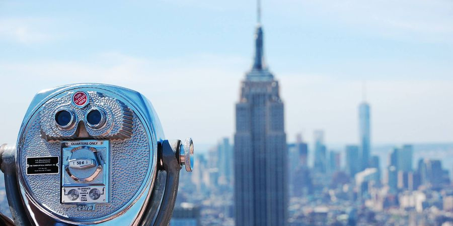 Top of theock Observation Deck - Rockefeller Center - New York - Doets Reizen