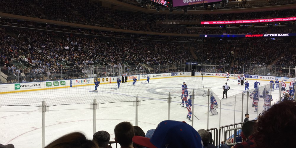 Ijshockey New York - Doets Reizen
