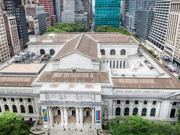 New York Public Library - Doets Reizen