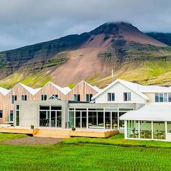 Fosshotel Vatnajökull - buiten