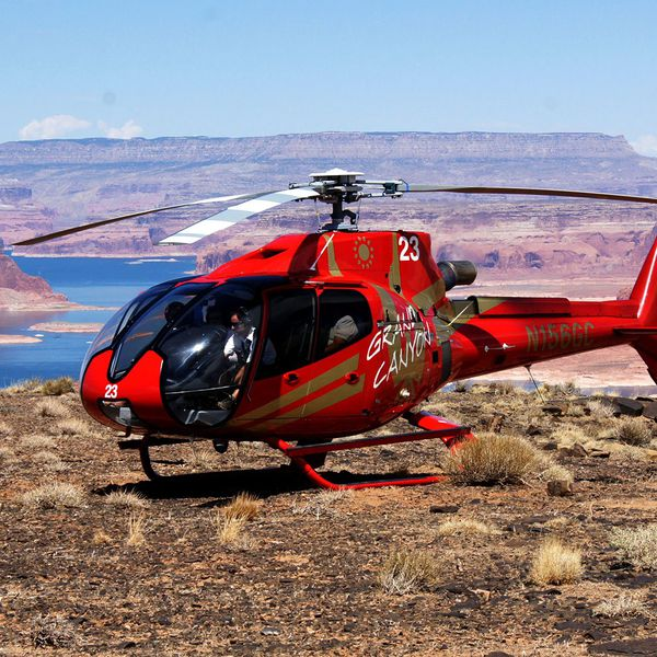 Helikopter Tower Butte Landing Tour - Page - Arizona - Doets Reizen