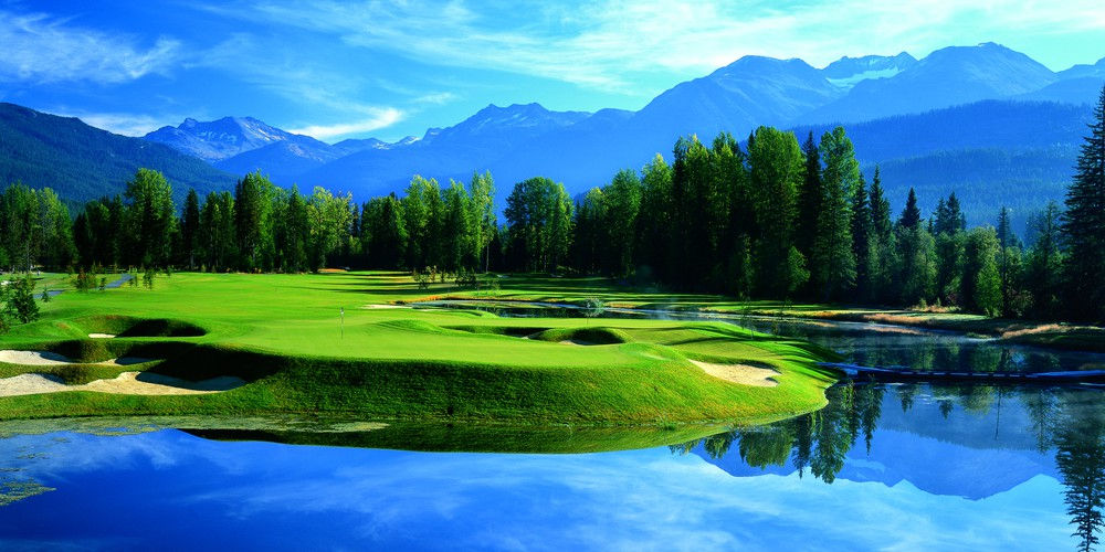 Whistler Golf Niklaus North British Columbia