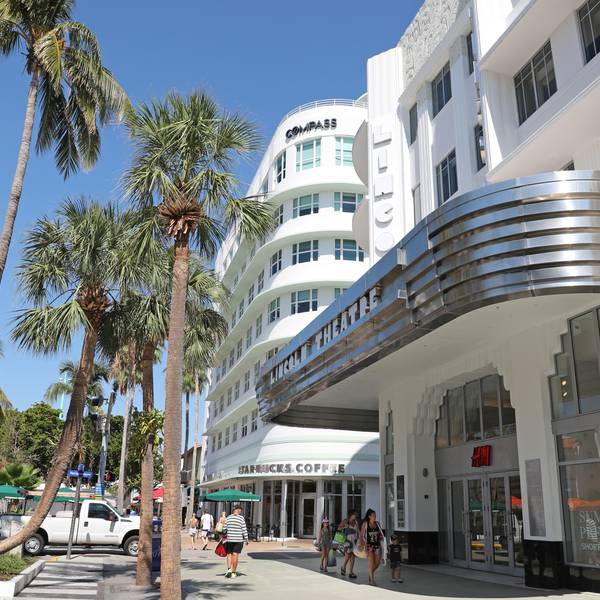 Art Deco District - Miami - Florida - Doets Reizen