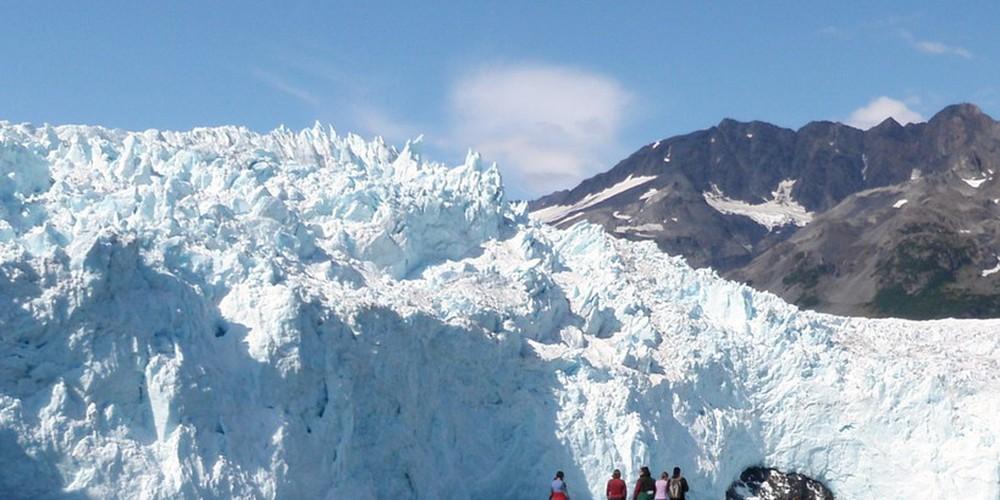 Exit Glacier - Alaska - Doets Reizen