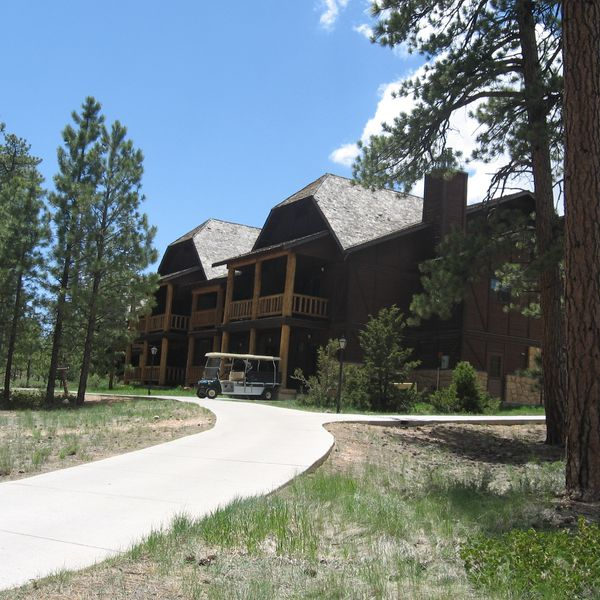 Bryce Canyon Lodge - aanzicht