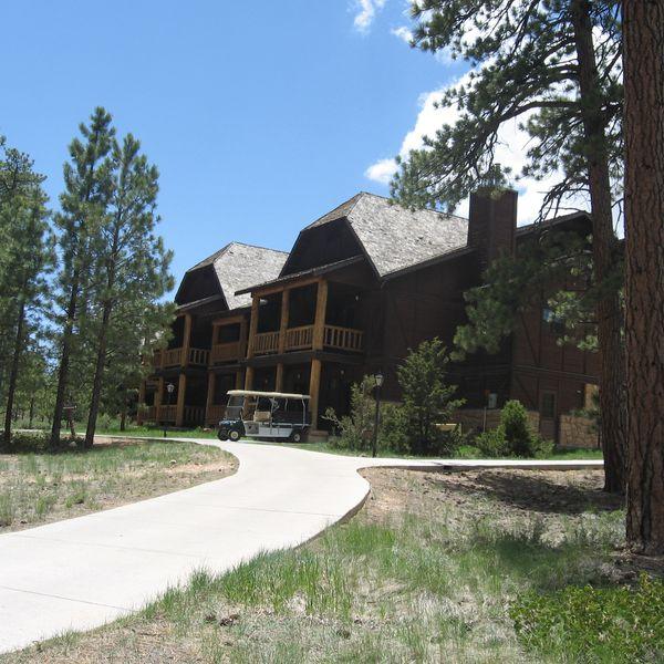 Bryce Canyon Lodge - aanzicht