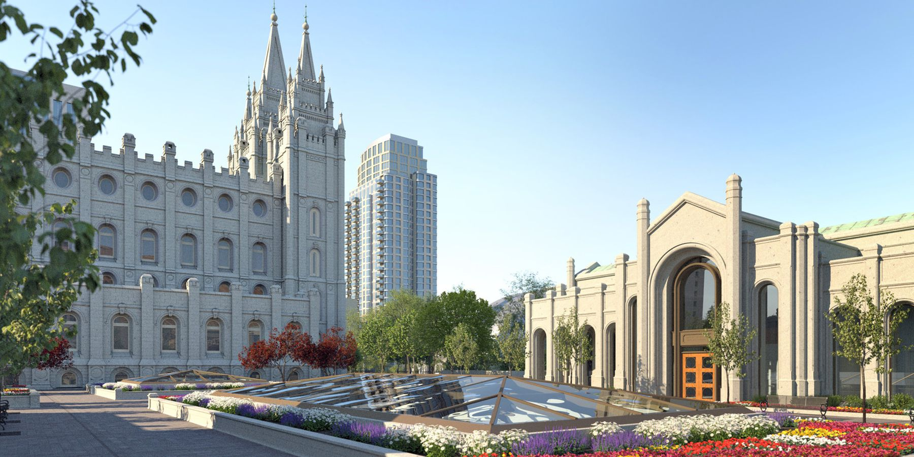 Temple Square - Salt Lake City - Utah - Doets Reizen