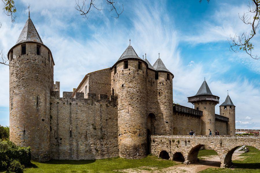 Carcassonne kasteel Doets Reizen - Frankrijk afbeelding van Daniel Nettesheim via Pixabay