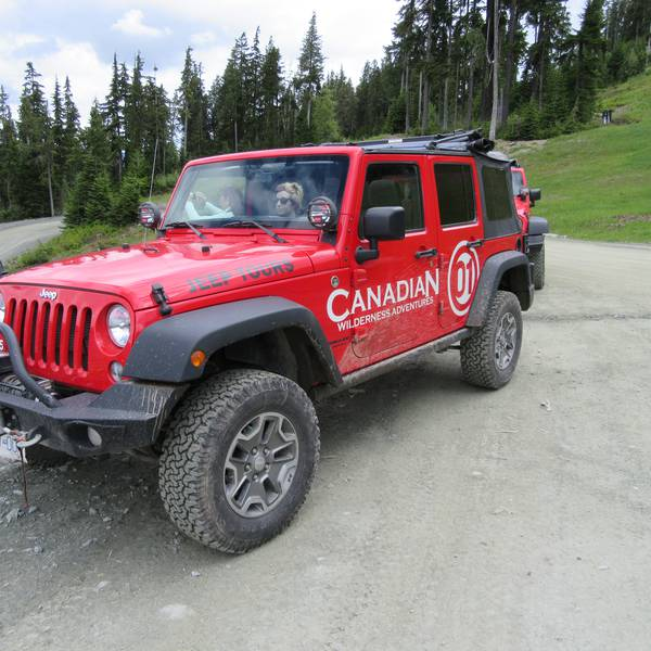 Whistler Jeeptour British Columbia