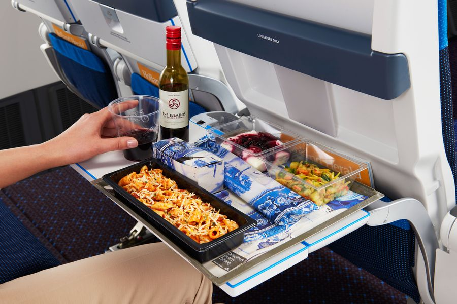 KLM Maaltijd - Economy Class - Doets Reizen
