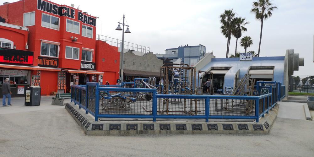 Muscle Beach - Santa Monica - Los Angeles - California - Amerika - Doets Reizen