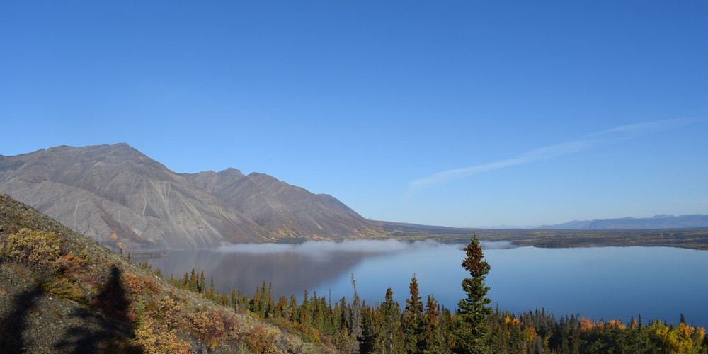 Kathleen Lake - King's Throne Hike - Haines Junction - Yukon - Canada - Doets Reizen