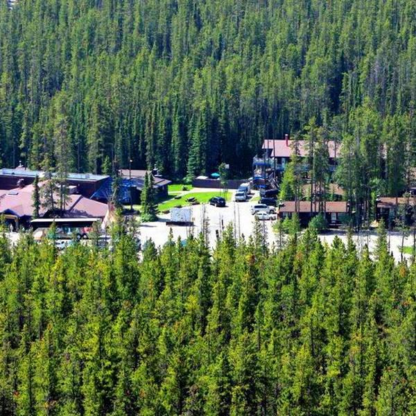 Sunwapta Falls Rocky Mountain Resort - vanuit de l