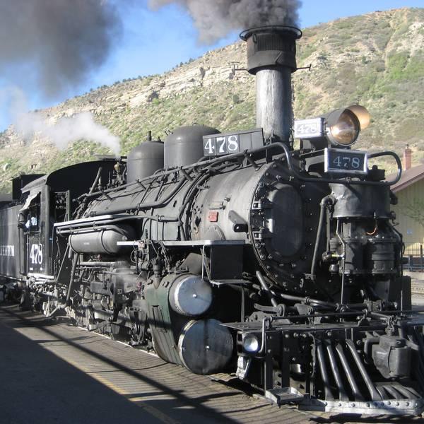 Durango - Silverton Train in Durango, Colorado