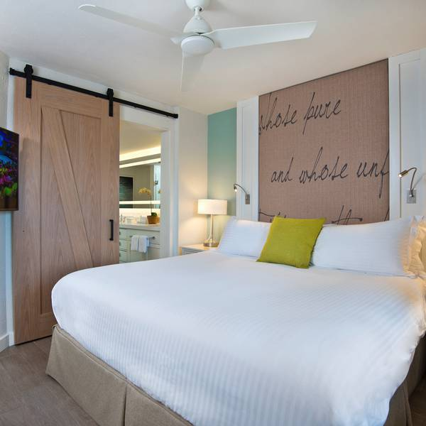 Beach House Suites - slaapkamer
