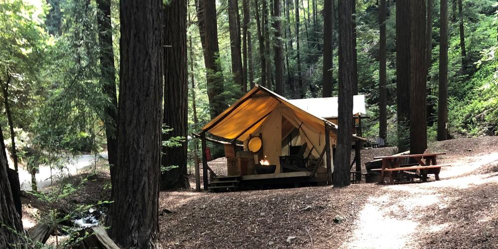 Readwood Glamping - Big Sur - Highway 1 - California - Amerika - Doets Reizen