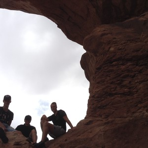Bezoek aan Arches National Park in Moab - Dag 12 - Foto
