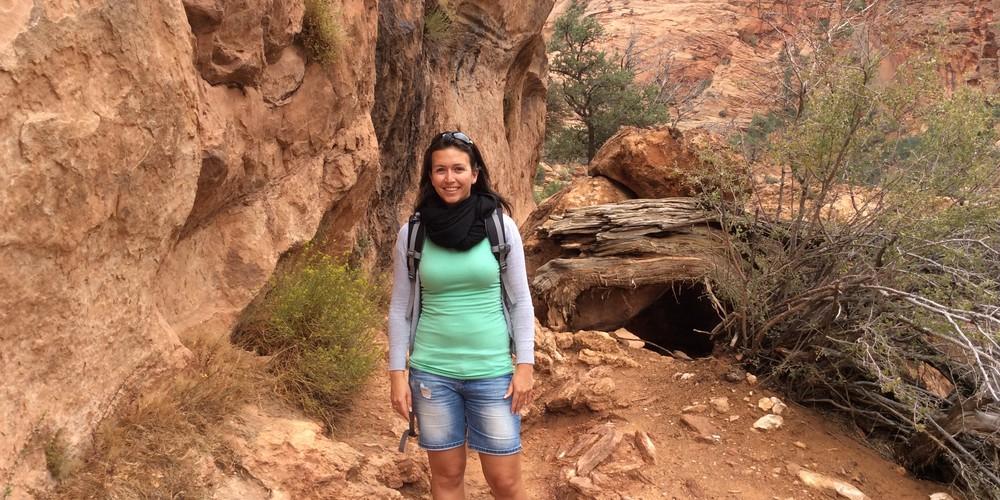 Hiken in Zion NP, Utah