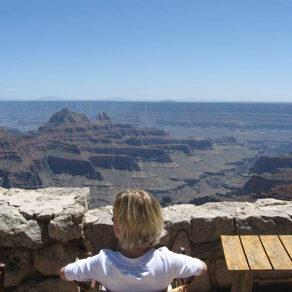 Grand Canyon North Rim Lodge - uitzicht 2