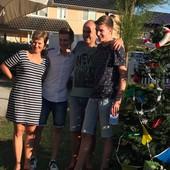 Marco, Sandra, Niels en Jelle Boeren