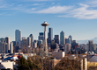 De skyline van Seattle