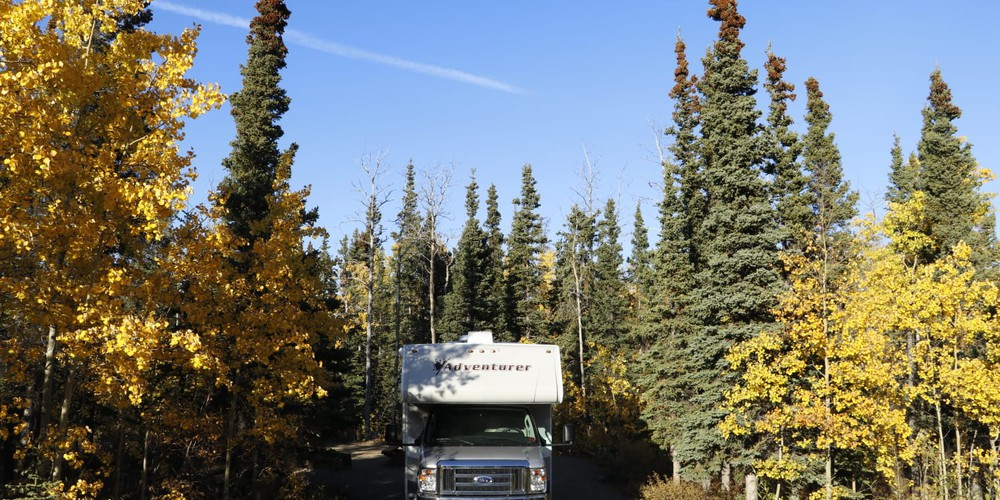 Kathleen Lake Campground - Haines Junction - Yukon - Canada - Doets Reizen