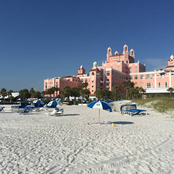 Loews Don Cesar - strand