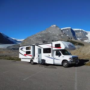 26 juli 2016: Columbia Icefield Centre - Jasper - Dag 6 - Foto