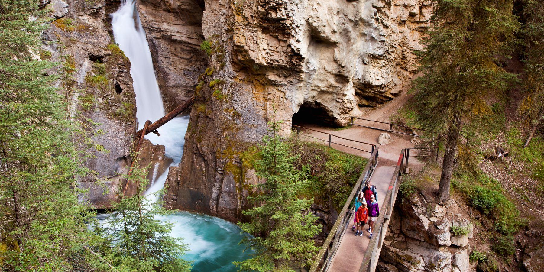 Johnston Canyon - Banff National Park - Alberta - Canada - Doets Reizen