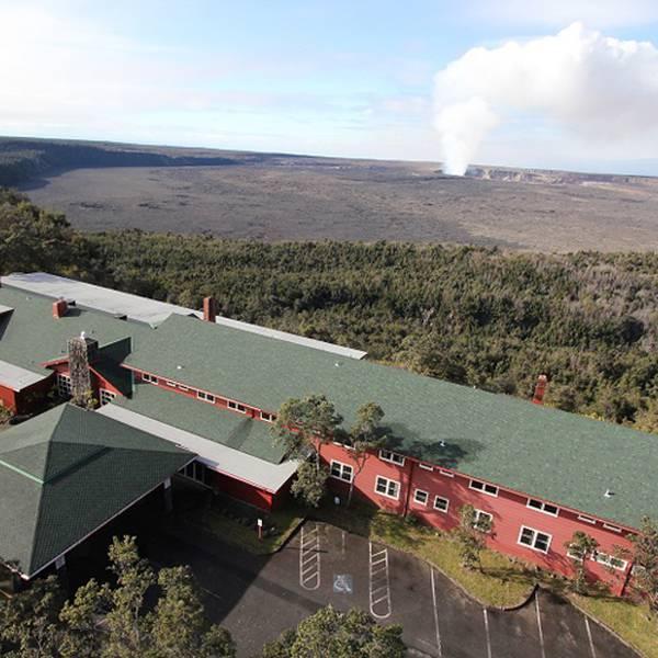 Volcano House  Exterior