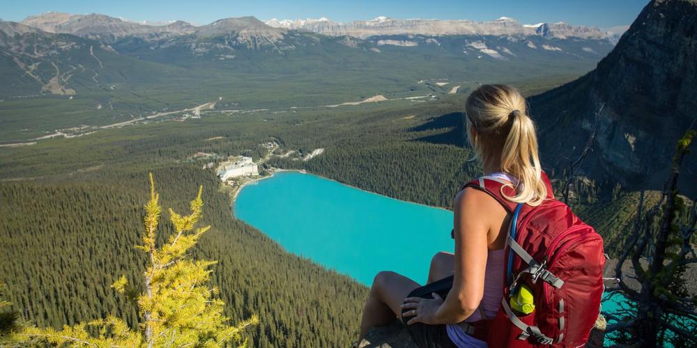 Lake Louise - Banff National Park - Alberta - Canda - Doets Reizen