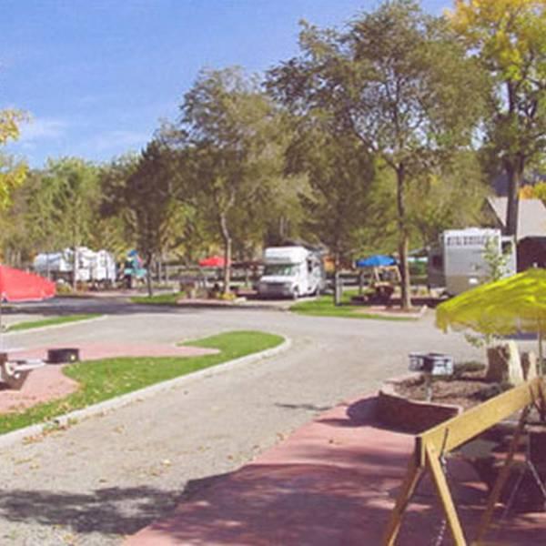 Billings KOA Holiday - campingplaats
