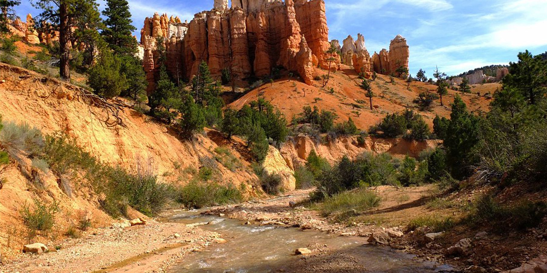 Mossy Cave Trail in Bryce Canyon - Doets Reizen - Rondreis Amerika - Fotocredits NPS