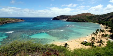 Hanauma Bay Nature Preserve Hawaii Oahu Amerika