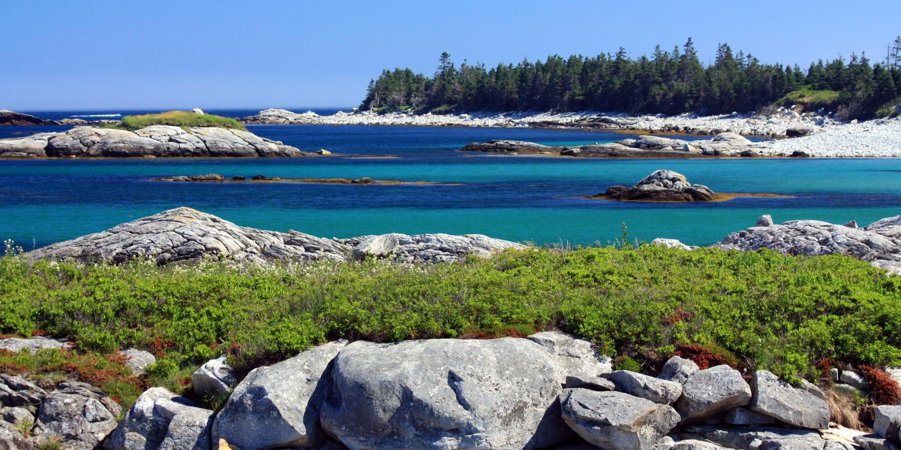 Kejimkujik National Park Seaside - Nova Scotia - Canada - Doets Reizen