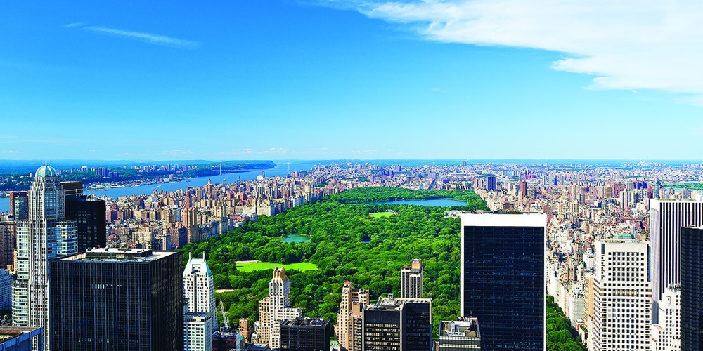 Top of theock Observation Deck - Rockefeller Center - New York - Doets Reizen