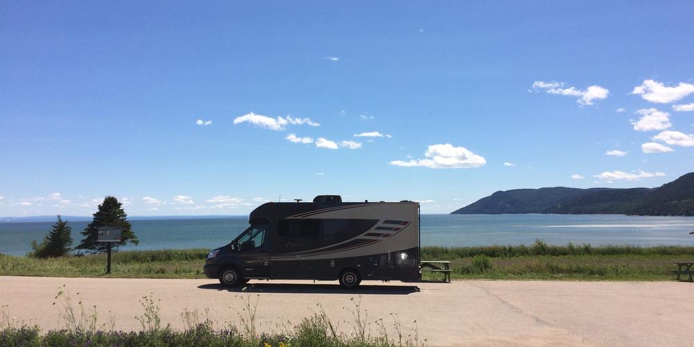 Met de camper toeren langs de Saint Lawrence River