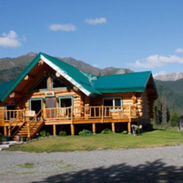 Log Cabins Wilderness Lodge - main lodge
