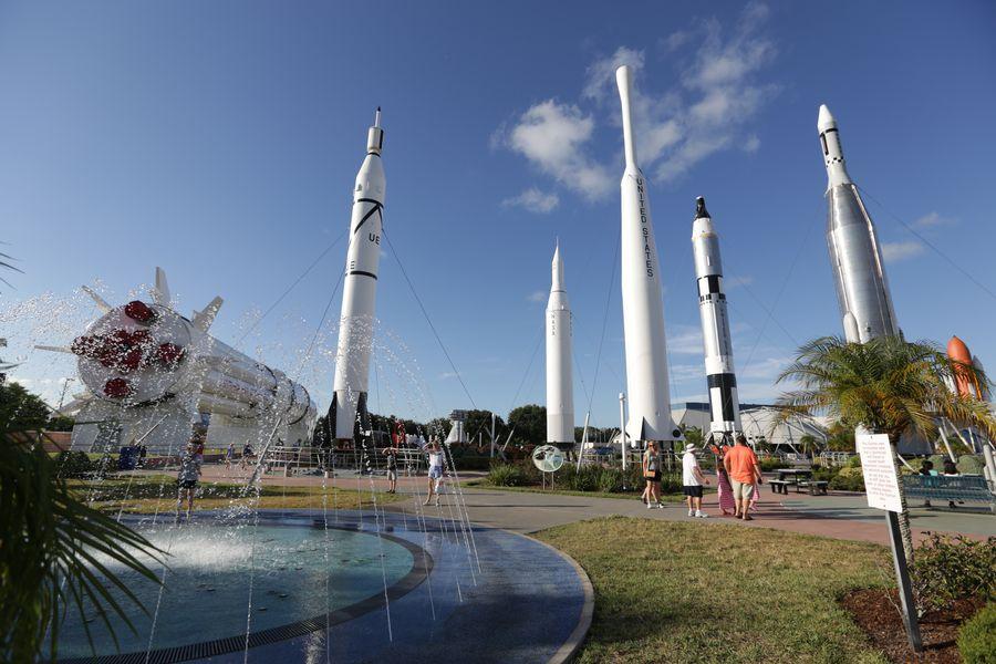 Kennedy Space Center - Cocoa Beach - Florida - Doets Reizen