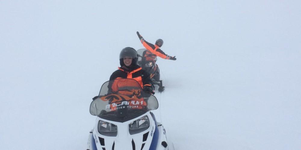 Sneuwscooter IJsland - Doets Reizen
