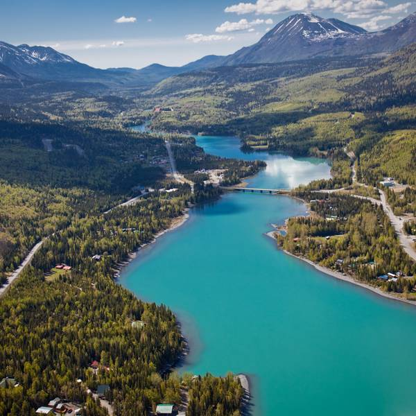 Cooper Landing - Kenai Peninsula - Alaska - Doets Reizen