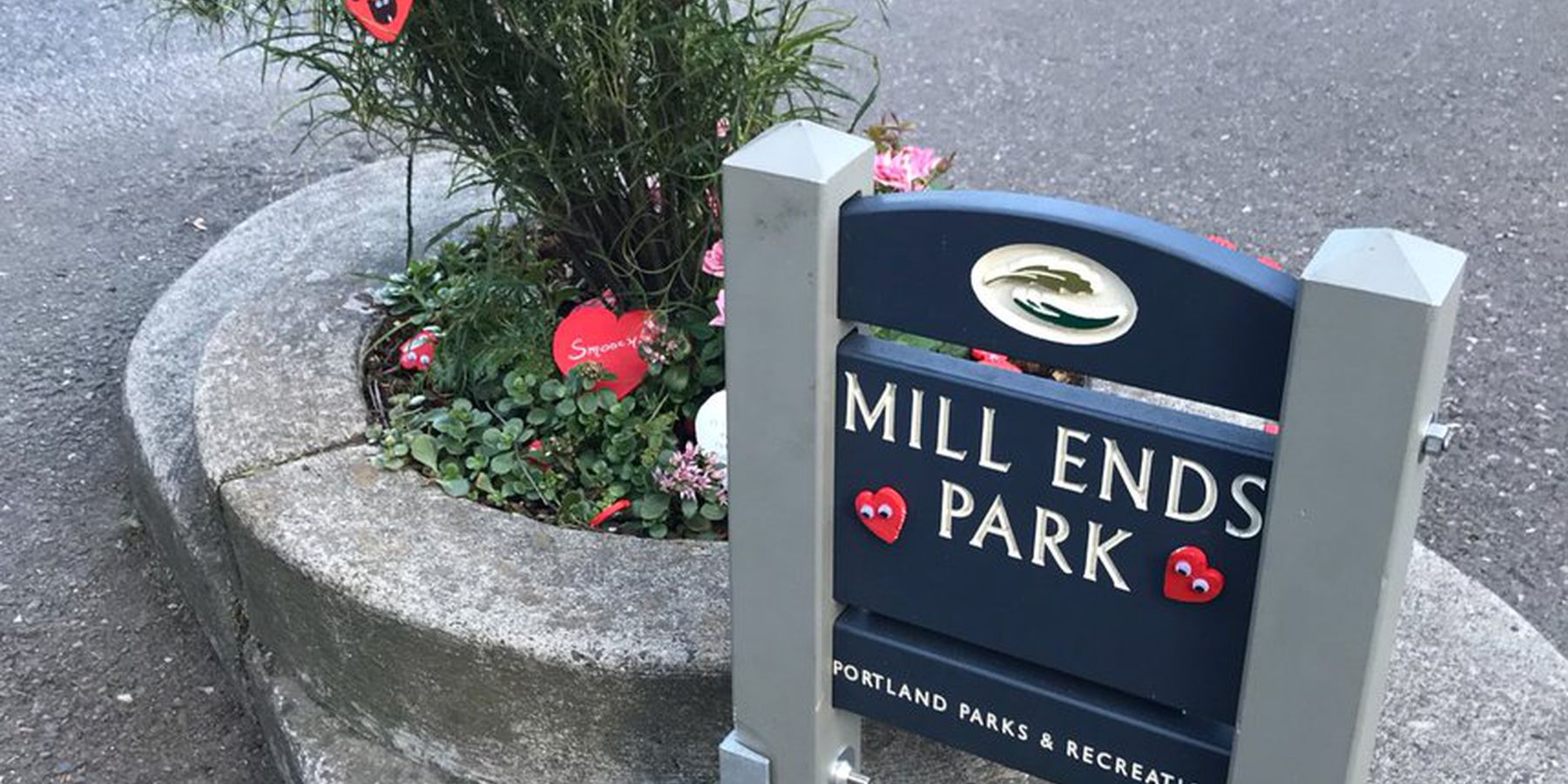 Mils End Park - Portland - Oregon - Doets Reizen