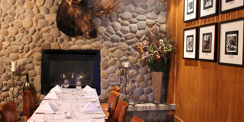Maple Leaf Room - Banff - Alberta - Doets Reizen