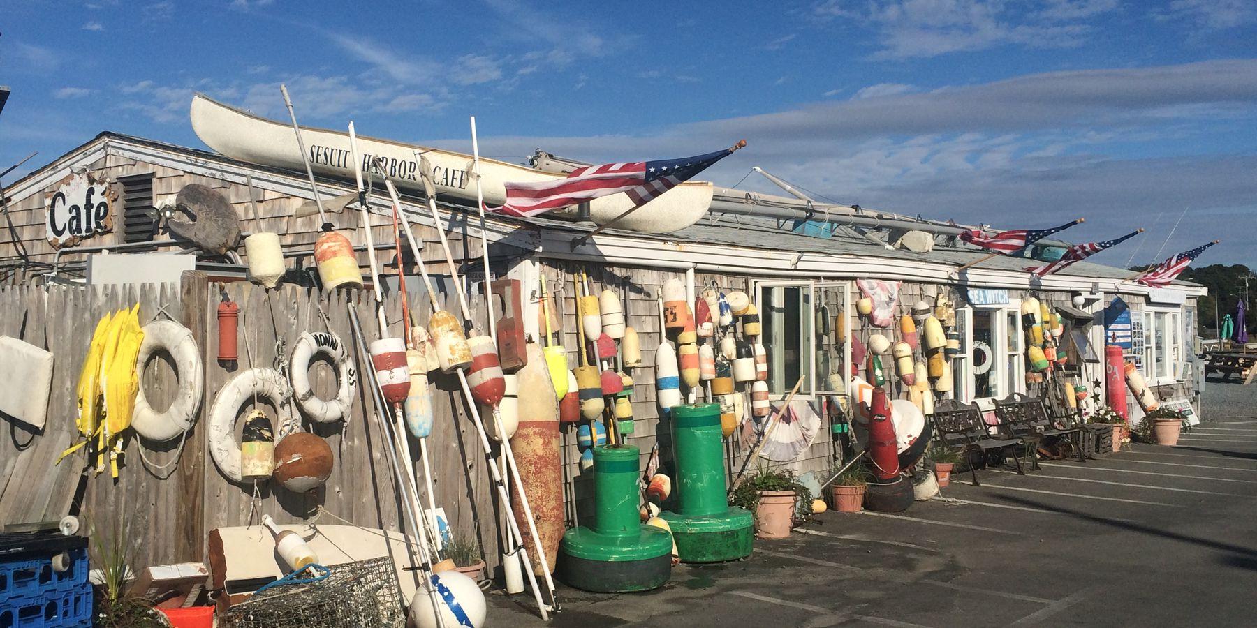 Sesuit Harbor Café - Cape Cod - Massachusetts - Doets Reizen
