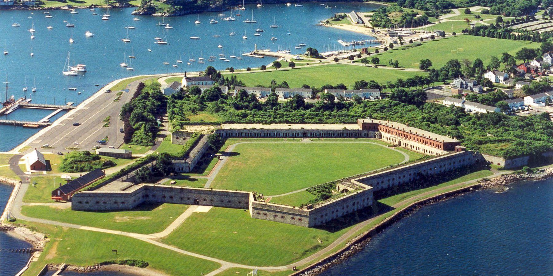 Fort Adams State Park - Newport - Rhode Island - Amerika - Doets Reizen