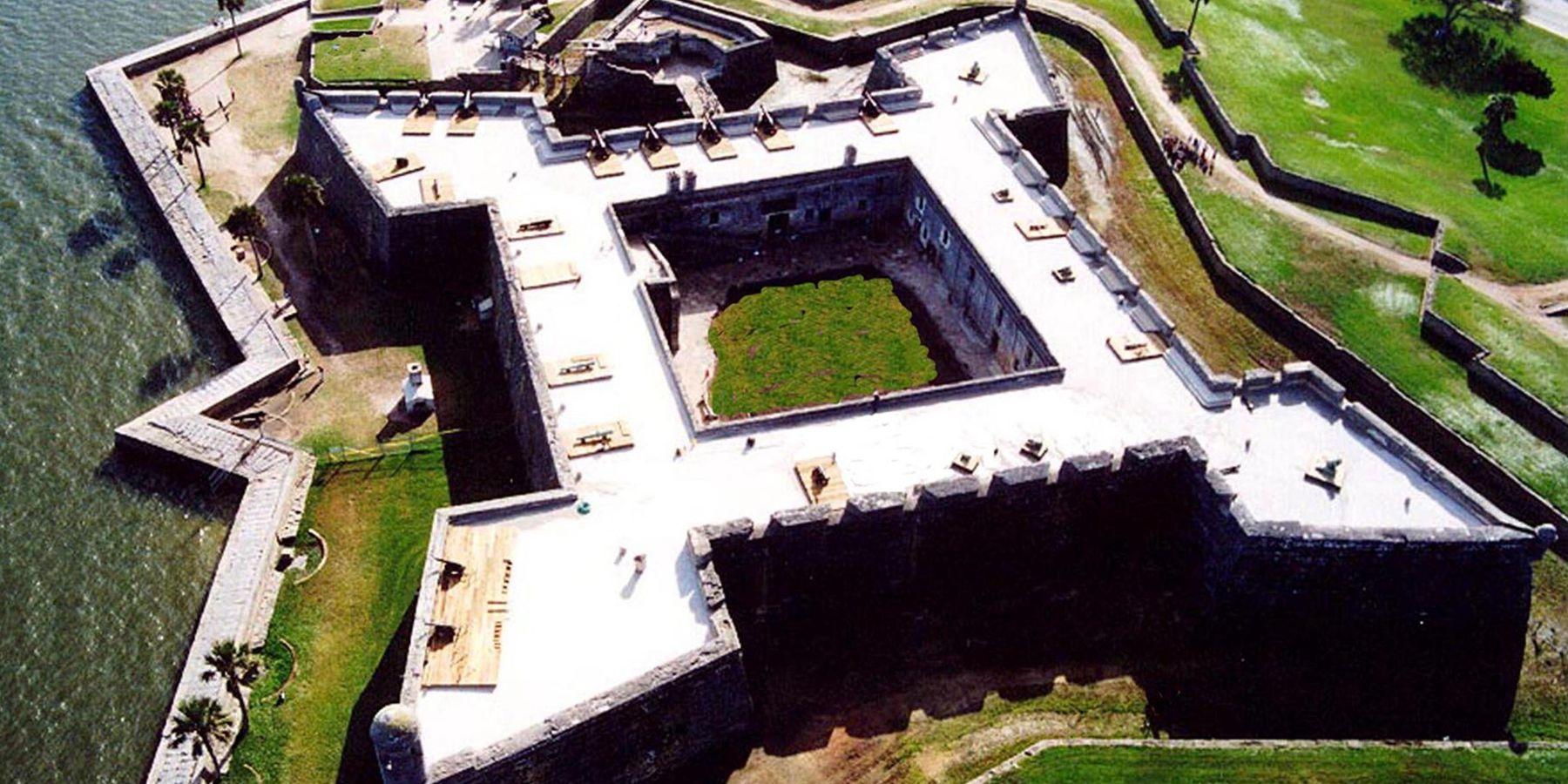 Castillo de San Marcos - St. Augustine - Florida - Doets Reizen