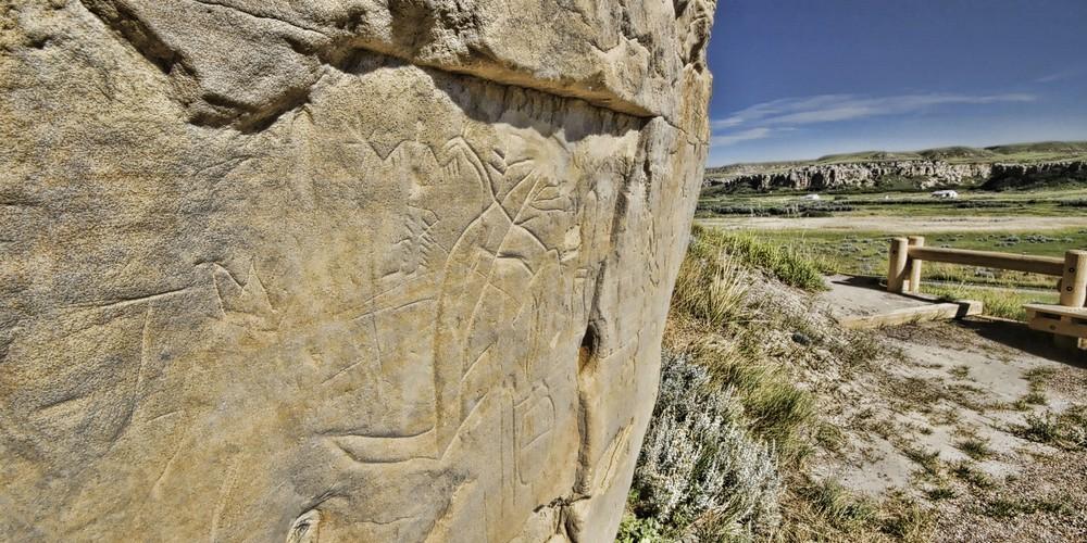 Writing-on-Stone Provincial Park - Alberta - Canada - Doets Reizen