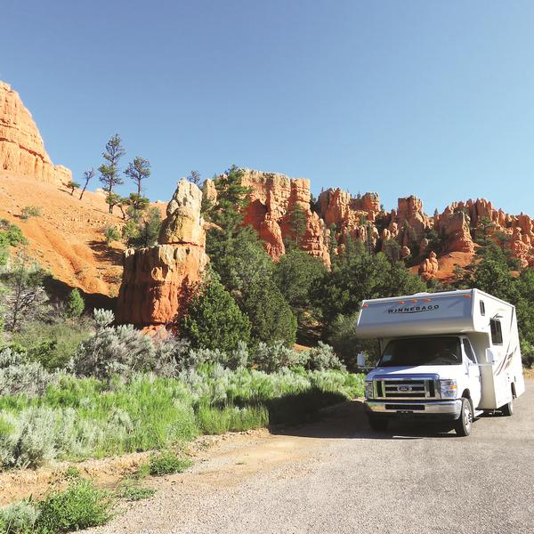 Apollo - Red Canyon - Utah - Camper huren Amerika - Doets Reizen