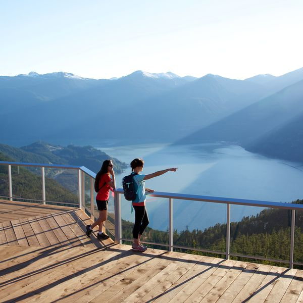 Sea to Sky Gondola - Whistler - British Columbia - Canada - Doets Reizen