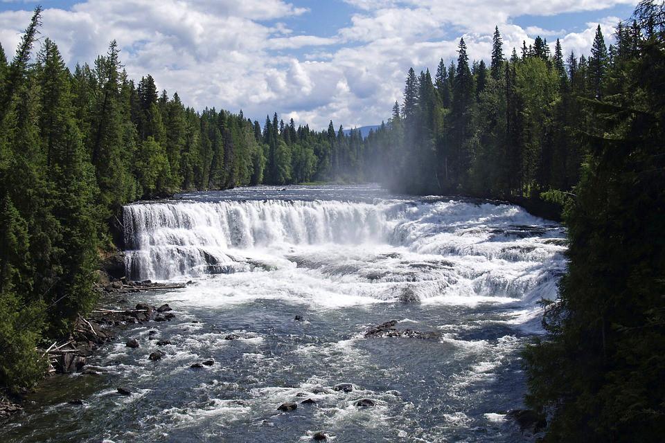 Dawson Falls - Wells Gray Provincial Park - British Columbia - Canada - Doets Reizen